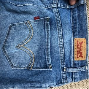 Levi's Distressed Denim Jeans | Size 5